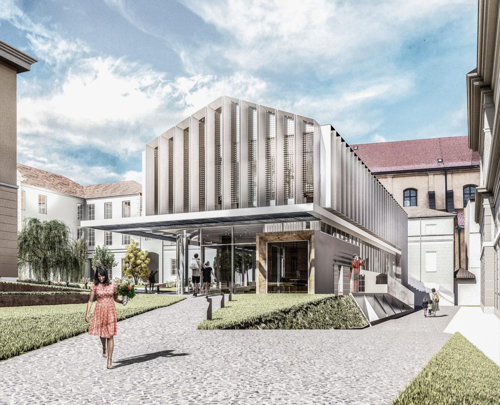 HSA - Budynek wielofunkcyjny nakampusie głównym UW